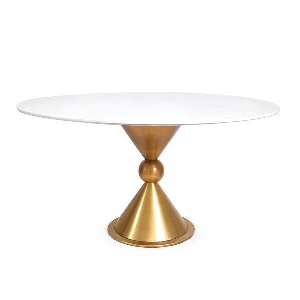Caracas Dining Table - Marble by Jonathan Adler