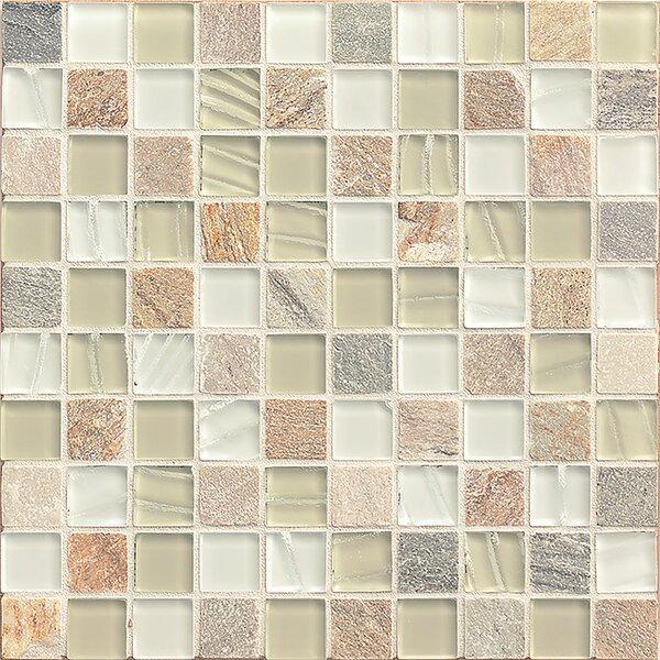 Queenstown 12 x 12 Stone Mosaic Tile in Toko by Grayson Martin