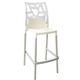 Ego-Rock 29 Patio Bar Stool (Set of 4) by Papatya