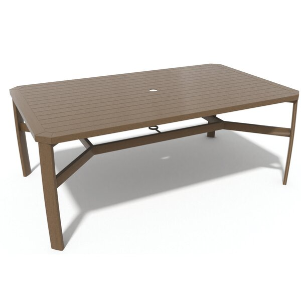 Soho Metal Dining Table by Winston