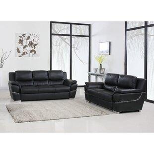 Danelea 2 Piece Standard Living Room Set by Orren Ellis