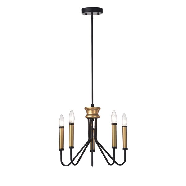Brigman 5-Light Candle Style Classic / Traditional Chandelier By House Of Hampton