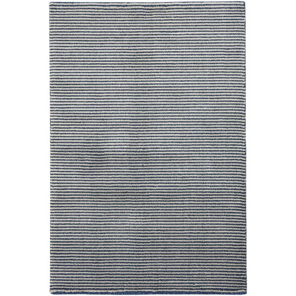 Gravitation White/Blue Area Rug by Capel Rugs