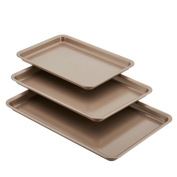Non-Stick 3 Piece Bakeware Cookie Pan Set by Anolon