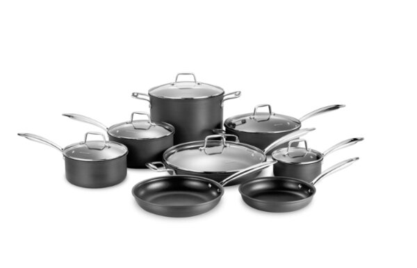 14 Piece Non-Stick Cookware Set by Momscook