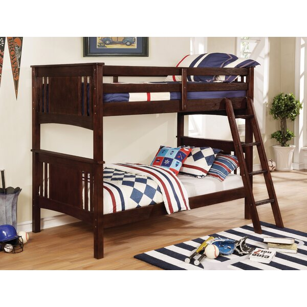 Sublett Twin over Twin Bunk Bed by Harriet Bee