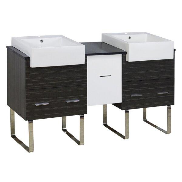 Barter 60 Double Bathroom Vanity Set by Orren Ellis