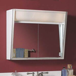Specialty Flair 24 X 19 5 Surface Mount Medicine Cabinet With Lighting