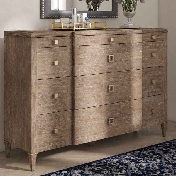Albright 10 Drawer Dresser by Everly Quinn
