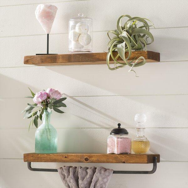 Drew 2 Piece Wall Shelf Set by Laurel Foundry Modern Farmhouse