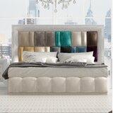 Jerri Upholstered Standard Bed byEverly Quinn