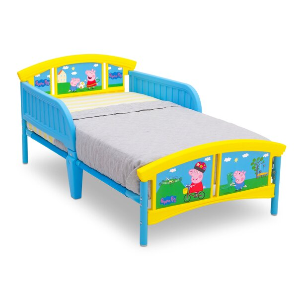 Peppa Pig Plastic Toddler Platform Bed by Delta Children