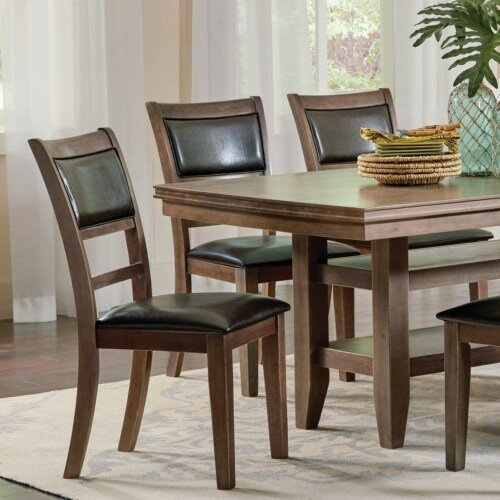 Wesner Upholstered Dining Chair (Set of 2) by Millwood Pines