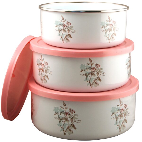 Twilight Grove 3 Container Food Storage Set by Corelle