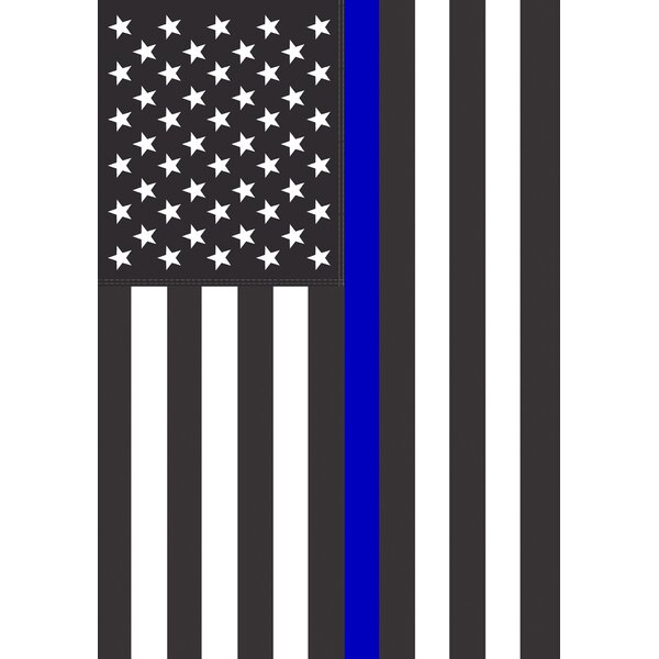 Thin Blue Line USA Garden flag by Toland Home Garden