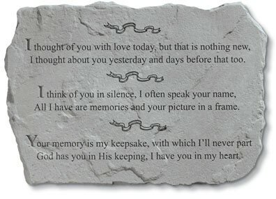 I Thought of You with Love Today Stepping Stone by Kay Berry, Inc