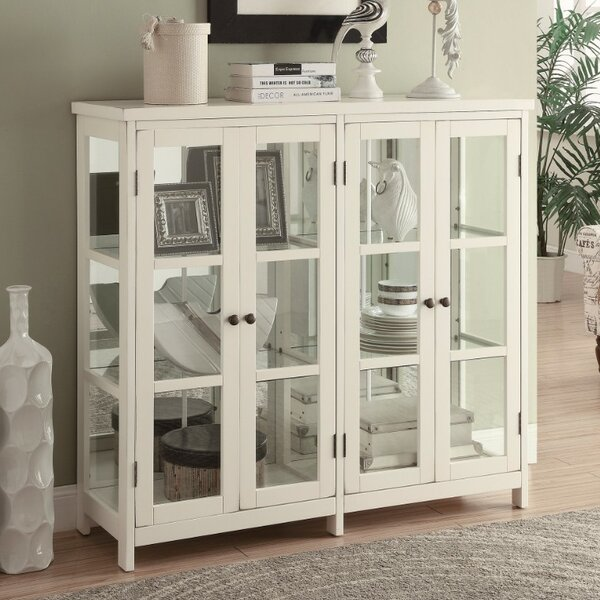 Filon Transitional Style Wooden Accent Cabinet by August Grove