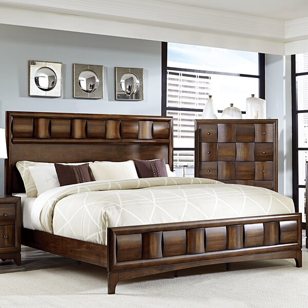 Ainslie Brook Standard Bed By World Menagerie by World Menagerie Today Sale Only