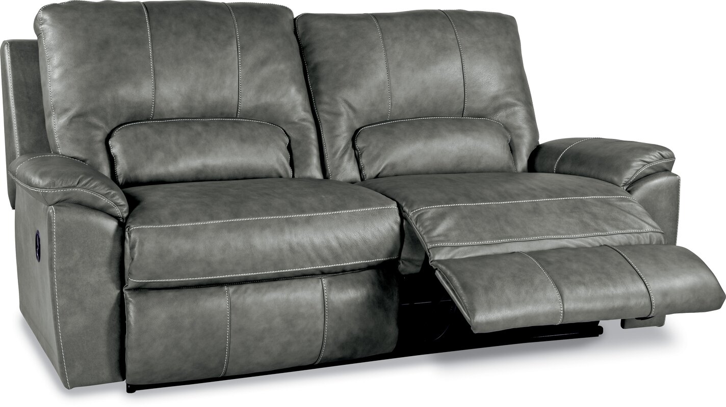 Charger La-Z-Time 2 Seat Full Leather Reclining Sofa