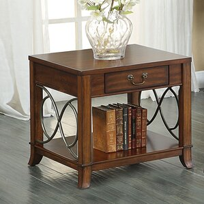 Elena End Table by A&J Homes S..