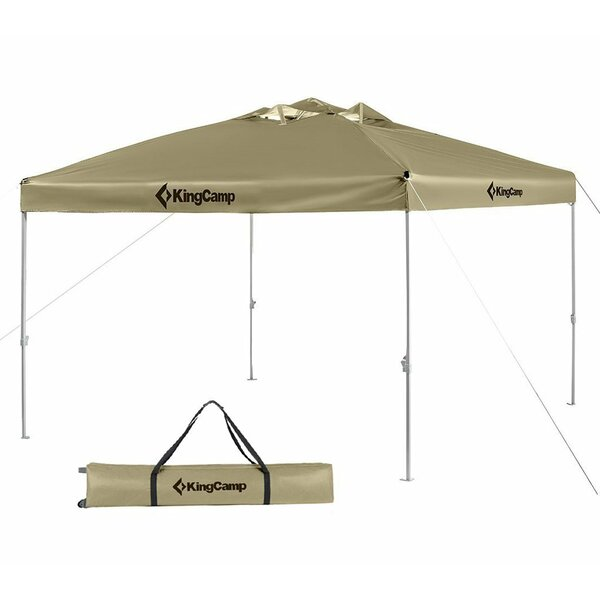 9.8 Ft. W x 9.8 Ft. D Metal Canopy by Kingcamp