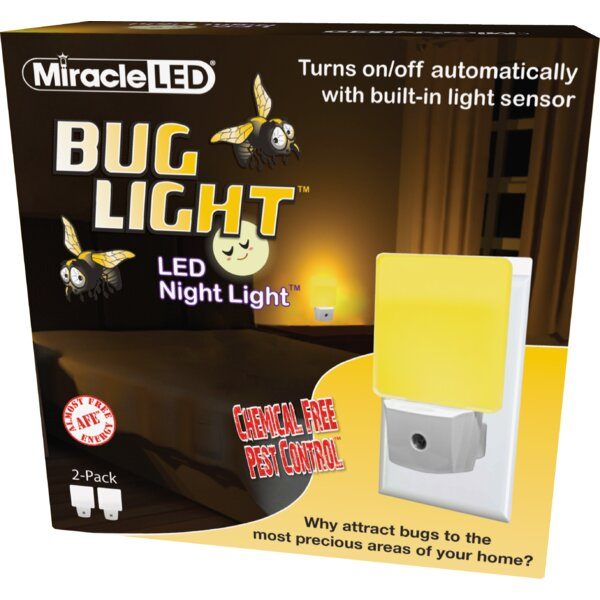 Indoor Night Light (Set of 2) by Miracle LED