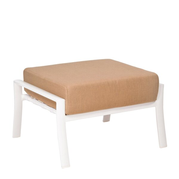 Fremont Outdoor Ottoman with Cushions by Woodard