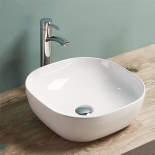 Shopping for Ceramic Square Vessel Bathroom Sink By Vanitesse