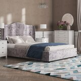 Pleasing Grey Winged Bed Wayfair Co Uk Spiritservingveterans Wood Chair Design Ideas Spiritservingveteransorg
