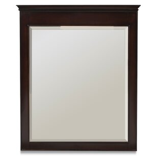 Inexpensive Beveled Rectangle Wall Mirror By Latitude Run