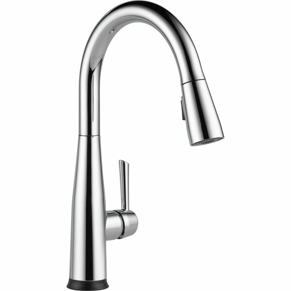 Essa Pull Down Touch Single Handle Kitchen Faucet with MagnaTite® Docking and Touch2O® Technology by Delta
