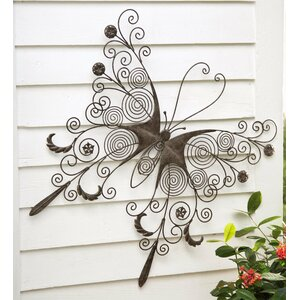 Butterfly Wall Décor by Wind & Weather