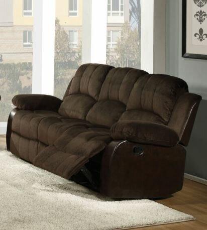 Swineford Manual Reclining Sofa by Red Barrel Studio