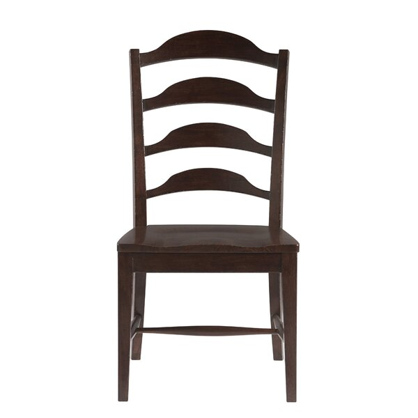 Jefferey Solid Wood Dining Side Chair (Set Of 2) By Canora Grey