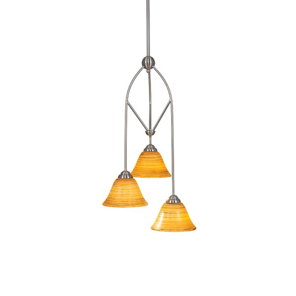Randle 3-Light Multi Mini Pendant With Hang Straight Swivel by Red Barrel Studio