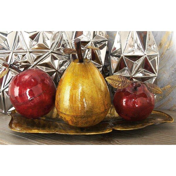 Dresden Fruit Sculpture by Three Posts