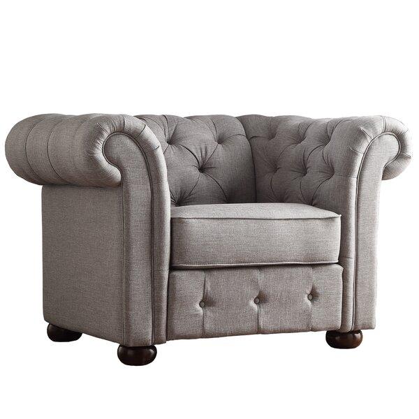 Vegard Tufted Button Armchair by Willa Arlo Interiors