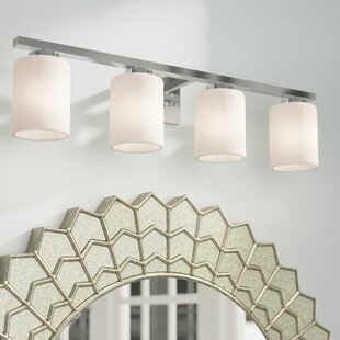 Price comparison Brazelton 4-Light Vanity Light By Brayden Studio