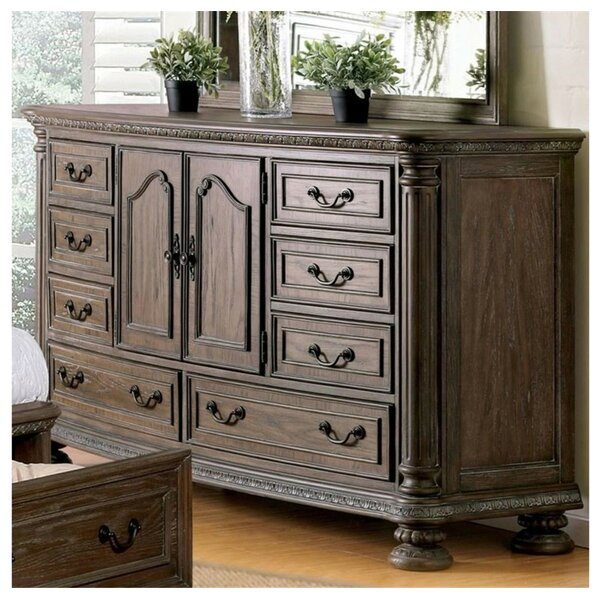 Dugan 8 Drawer Double Dresser by Canora Grey