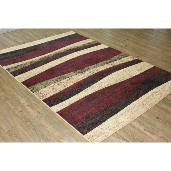 Yarbro Burgundy Area Rug by Latitude Run