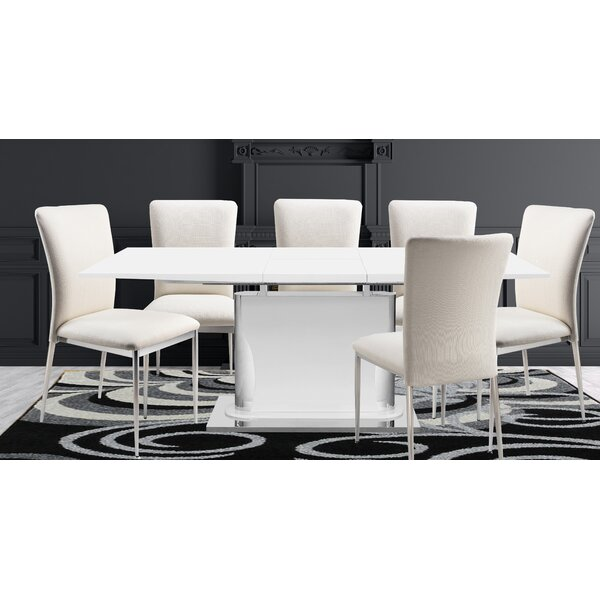Demetrius 5 Piece Extendable Dining Set by Orren Ellis Orren Ellis