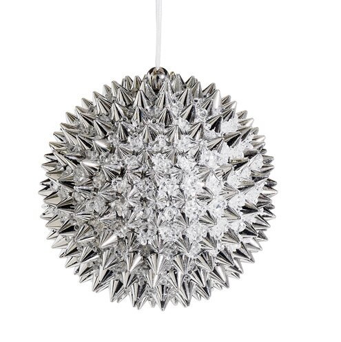 Beaded Spiky Christmas Ball Ornament by Tori Home