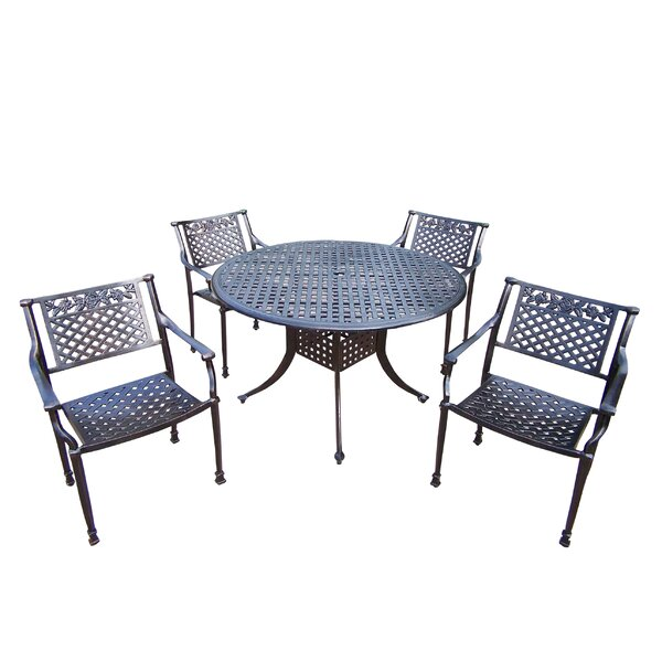Rose 5 Piece Dining Set by Oakland Living