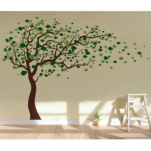 Trees And Flower Wall Decals Youll Love Wayfair - Wall decals nature and plants