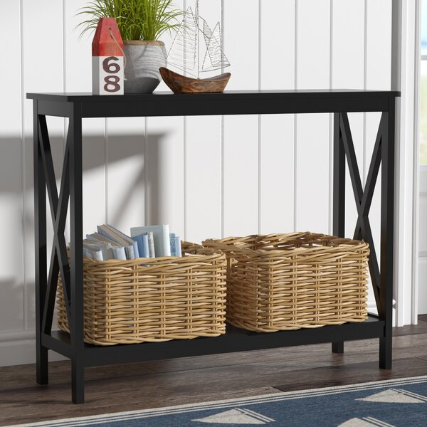 Compare prices Stoneford 39.5 Console Table by Beachcrest Home