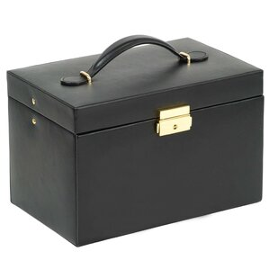 Heritage Large Jewelry Box with Travel Case by WOLF