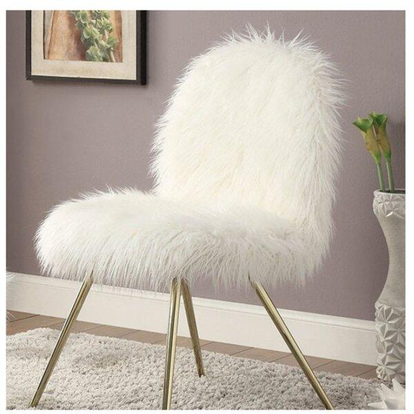 Ridley Slipper Chair by Everly Quinn