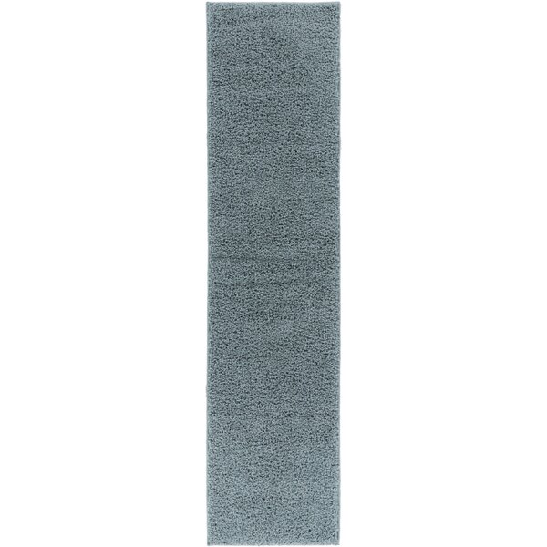 Reynolds Plain Solid Gray Area Rug by Ebern Designs