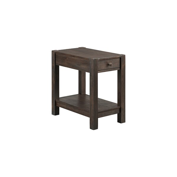 Benat End Table With Storage By Gracie Oaks