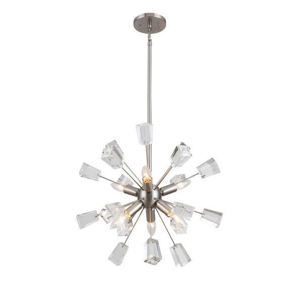 Middleborough 6-Light Sputnik Sphere Chandelier by George Oliver George Oliver